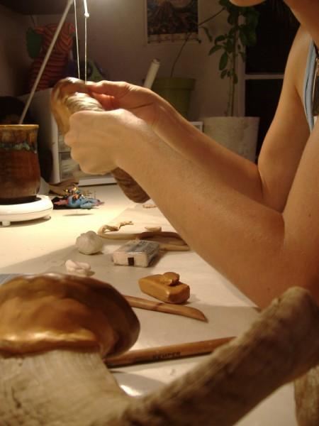making horns